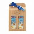 Darčekové balenie - sprchový gel a vlasový šampón s kozím mliekom