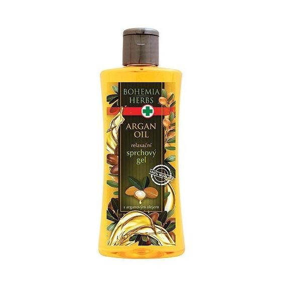 Bohemia Herbs - kosmetika argan - sprchový gel 250 ml s arganovým olejem