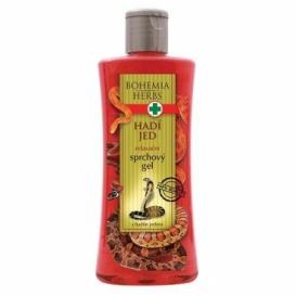 Bohemia Bylinky - kozmetika hada jed - sprchový gél 250 ml s hadí jed