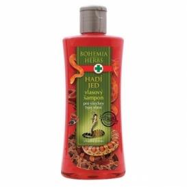 Bohemia Herbs - kosmetika hadí jed - vlasový šampon 250 ml s hadím jedem