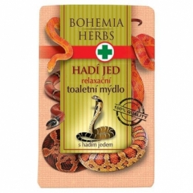 Bohemia Bylinky - kozmetika hada jed - toaletné mydlo 100 g s hada jed a glycerol