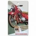Bohemia Dary - handmade parfumované aromatických karty na auto - motorke - vyrobené v Československu