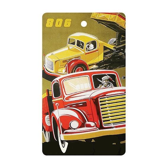 Bohemia Gifts - ručně parfémovaná aromatická karta do auta - nákladní auto
