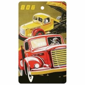 Bohemia Dary - handmade parfumované aromatických karty do automobilov - nákladné auto