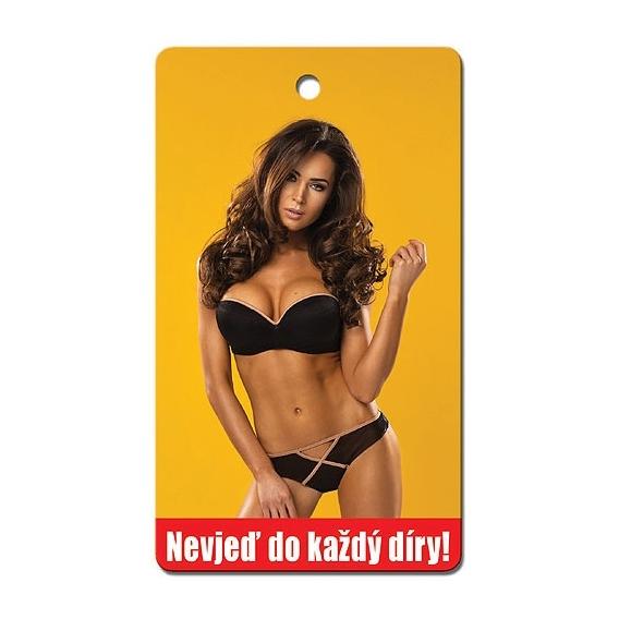 Bohemia Dary - handmade parfumované aromatických karty na auto - Nejveď v každej diery!