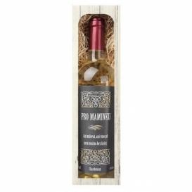 Bohemia Gifts - dárkové bílé víno pro maminku - Chardonnay