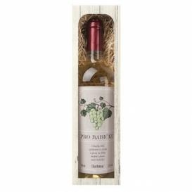 Bohemia Gifts - darčekové víno 0.75 l - pre babičku Chardonnay