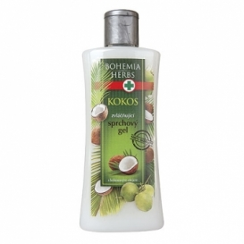 Bohemia Bylinky - kozmetika kokos - sprchový gél 250 ml s kokosový olej
