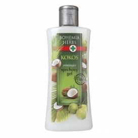 Bohemia Herbs - kosmetika kokos - sprchový gel 250 ml s kokosovým olejem