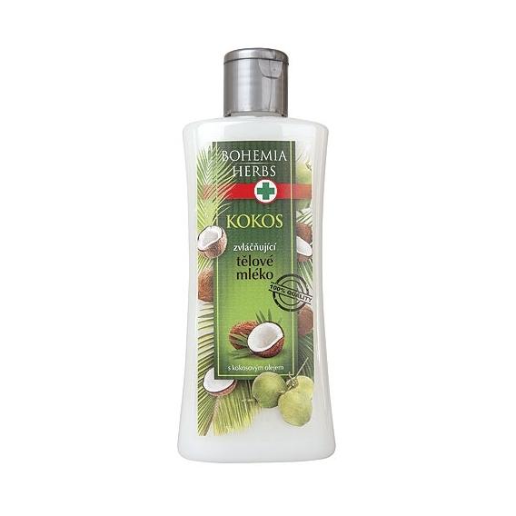 Telové mlieko s kokosovým olejom a panthenolom 250 ml