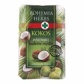 Bohemia Herbs - kosmetika kokos - toaletní mýdlo 100 g s glycerinem a kokosovým olejem