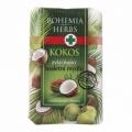 Bohemia Bylinky - kozmetika kokos - zadarmo mydlo 100 g s glycerín a kokosový olej