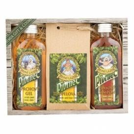 Pivo kozmetika Pivrnec – sada - gél, kúpeľové soli, a šampón
