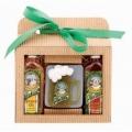 Pivná kozmetická sada Pivrnec – sprchový gél 100 ml, ručne vyrábané mydlo 85g a vlasový šampón 100 ml