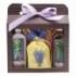 Kozmetika levanduľa - darčekové balenie - gel + soľ + vaňa