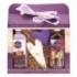 Levanduľa darčekové balenie - gel + patchwork + vaňa