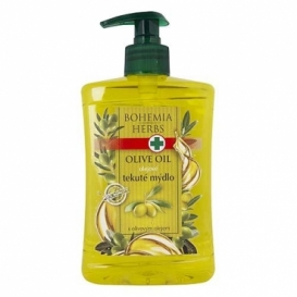 Bohemia Herbs - olejové tekuté mýdlo 500 ml - oliva