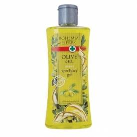Bohemia Herbs - olejový sprchový gel 250 ml - oliva