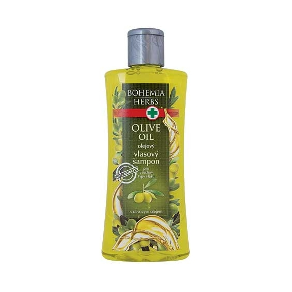 Bohemia Herbs - olejový šampon 250 ml - oliva
