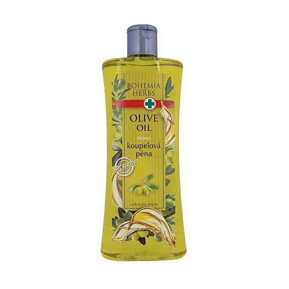 Bohemia Bylinky - olejovom kúpeli pena 500 ml - olivový