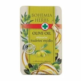 Bohemia Bylinky - toaletné mydlo 100 g - olivový