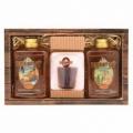Bohemia Darčeky - darčekové balenie rum kozmetika - sprchový gél 300 ml, tvarované mydlo a olej kúpeľa 300 ml