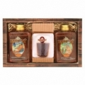 Bohemia Gifts - dárkové balení rum kosmetiky - sprchový gel 300ml, tvarované mýdlo a olejová lázeň 300ml