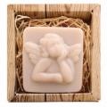 Bohemia Darčeky - ručne vyrábané mydlo v krabici - anjel