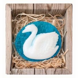 Bohemia Gifts - ručně vyráběné mýdlo 80 g - labuť
