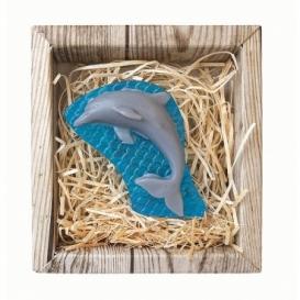 Bohemia Darčeky - ručne vyrábané mydlo 45 g - delfín