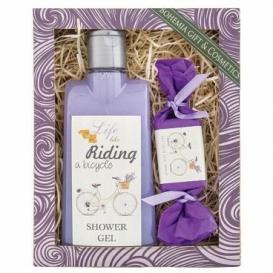 Bohemia Gifts - dárkové balení kosmetika - Riding a Bicycle