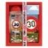 Darčekové balenie - Všetko najlepšie 30 - sprchový gél 300 ml, ručne vyrábané mydlo