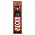 Bohemia Gifts - dárkové víno k 20. narozeninám 0,75 l - Vše nej - červené Merlot