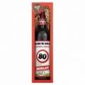 Bohemia Gifts - dárkové víno k 80. narozeninám 0,75 l - Vše nej - červené Merlot