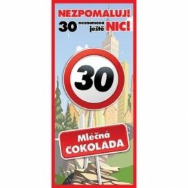 Bohemia Gifts - dárková čokoláda k 30. narozeninám 100 g - Vše nej