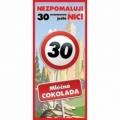 Bohemia Darčeky - darček čokoláda do 30. narodeniny 100 g - happy birthday