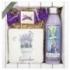 Darčekové balenie Levanduľa - sprchový gél 200 ml, mydlo 30 g, dekoračná keramická kachlička
