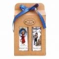 Darčekové balenie - Vianoce - sprchový gél 250 ml, olejová kúpeľ 250 ml - s vôňou jablko a škorica