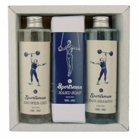 Bohemia Gifts – dárková sada Sportsman - gel, mýdlo a šampon