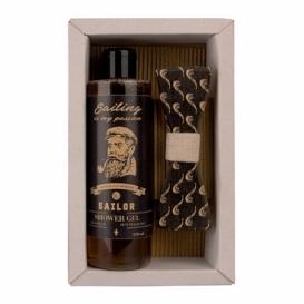 Bohemia Gifts -  sada - sprchový gel a motýlek Sailor