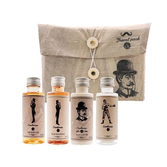 Bohemia Gifts - travel pack - cestovní sada kosmetiky Gentleman