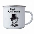 Bohemia Gifts - plecháček pro muže - real gentleman