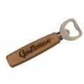 Bohemia Gifts - dřevěný otvírák Gentleman