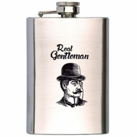 Bohemia Gifts - placatka na alkohol 200 ml - gentleman