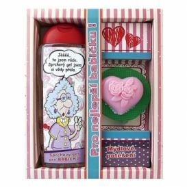 Bohemia Gifts - kosmetika pro babičku - sprchový gel a mýdlo