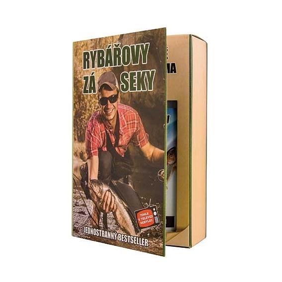 Bohemia Gifts - dárkové balení kosmetiky pro muže - kniha - pro rybáře