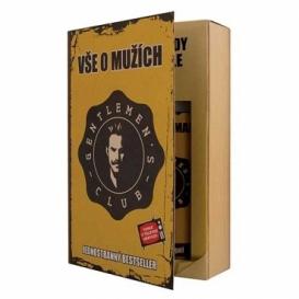 Bohemia Gifts - dárkové balení kosmetiky pro muže - kniha - Gentleman