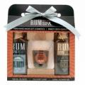 Darčekové balenie rum kozmetika - sprchový gél, mydlo (dummy), a olejovom kúpeli - Rum Spa