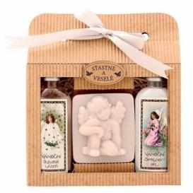 Bohemia Gifts -  sada Vánoce - sprchový gel, mýdlo a lázeň