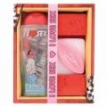 Bohemia Gifts - sexy dárková sada - sprchový gel a mýdlo vagína